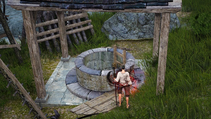 ビラーギ山塞の井戸に潜入