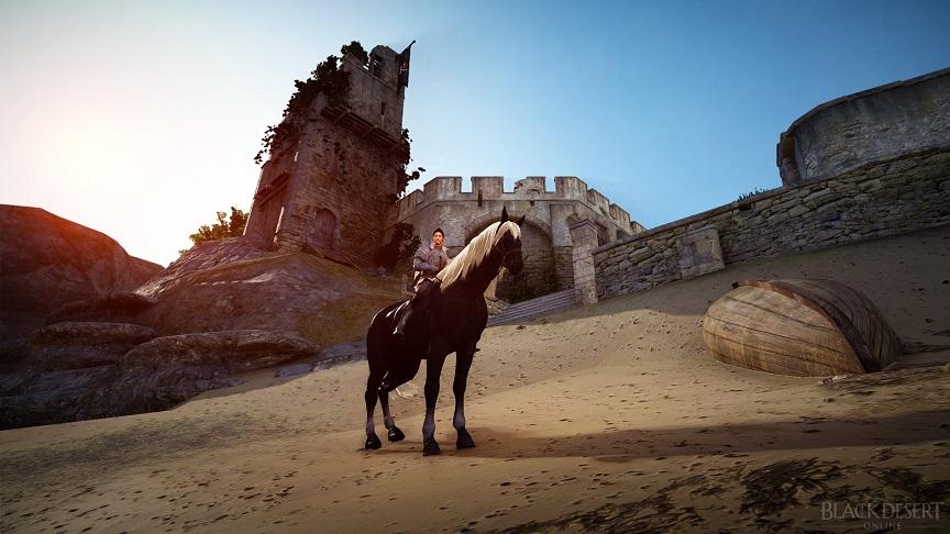 5世代馬(ボディー:黒、タテガミ・シッポ:白)