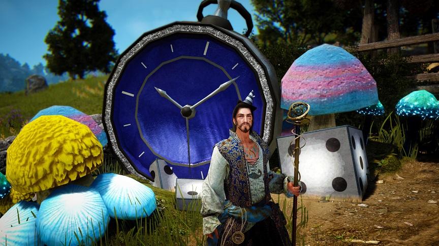 ハロウィンイベント装飾(時計)