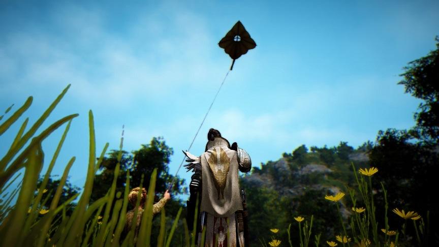 フローリン村の凧