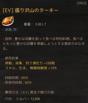 [EV]盛り沢山のターキー